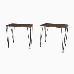 Tables Basses par Campo & Graffi, Italie, 1960s, Set de 2