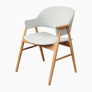 Vintage Scandinavian Beech Occasional Chair