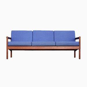Mid-Century Modell 163 Sofa aus Teak von Kai Kristiansen für Magnus Olesen
