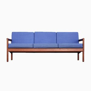 Mid-Century Teak Model 163 Sofa by Kai Kristiansen for Magnus Olesen