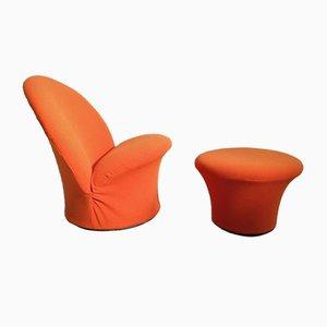 F572 Sessel & Pilz von Pierre Paulin für Artifort, 1968