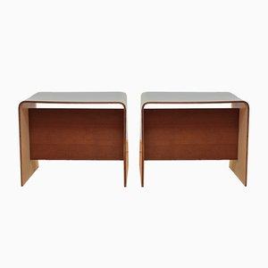 Tables de Chevet par Pierre Guariche pour Negroni SA, 1960s, Set de 2