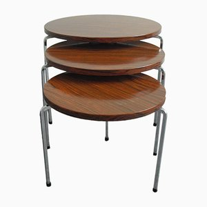 Tripod Nesting Tables from Vaza Roden 1960s, Set of 3
