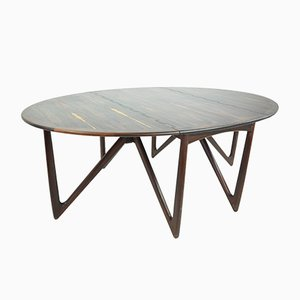 Dining Table in Rosewood by Niels Kofoed for Koefoed, 1960s