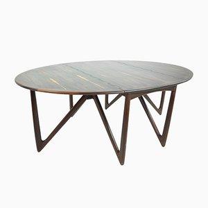 Tavolo da pranzo in palissandro di Niels Kofoed per Koefoed, anni '60