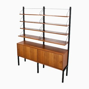 Royal Free Standing Shelving Unit by Poul Cadovius for Cado, 1960s