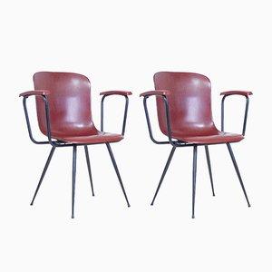 Kleine Bürostühle von Pagholz Flötotto, 1960er, 2er Set