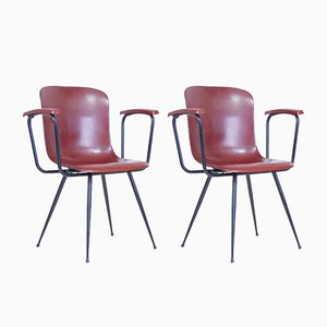 Petites Chaises de Bureau de Pagholz Flötotto, 1960s, Set de 2