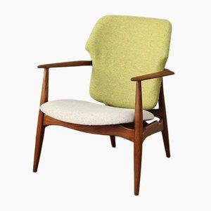 Mid-Century Armchair by Louis van Teeffelen