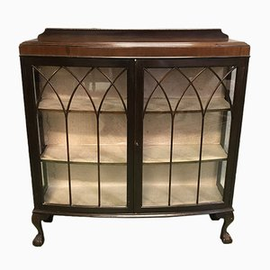 Chippendale Style Mahogany Showcase, 1930s