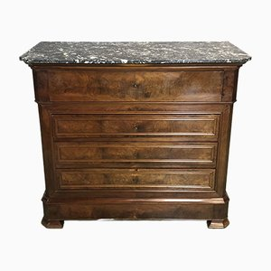 Louis Philippe XIX Era Secretary Commode