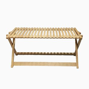 Model A5 Folding Maple Bench By Jean-Claude Duboys for Attitude Editions, 1980s