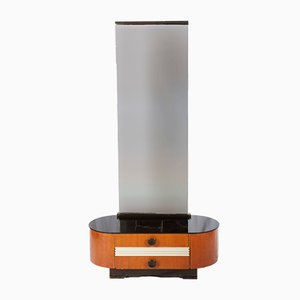 Consola Art Déco con espejo de Jindrich Halabala para UP-Zavody