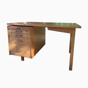 Skandinavischer Schreibtisch aus Eiche, 1950er