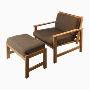 Easy Chair & Ottoman from Charles Webb, 1960s