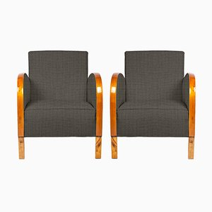 Customizable Art Deco Club Chairs, 1920s, Set of 2