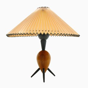 Beech Table Lamp, 1960s