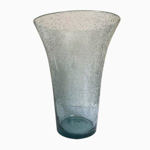 Large Bubble Glass Vase from Biot, 1960s