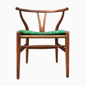 CH24 Beistellstuhl von Hans J. Wegner für Carl Hansen & Søn, 1960er