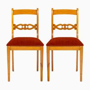 Personalisierbare schwedische Stühle, 1970er, 2er Set