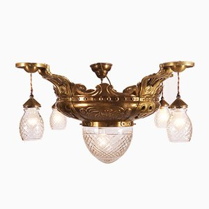 Art Nouveau Ceiling Lamp by Rudolf Frimodt Clausen, 1911