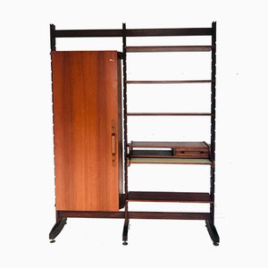 Scandinavian Style Shelving Unit & Cabinet, 1960s