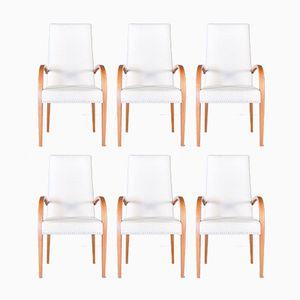 Chaises de Salle à Manger Modernes Mid-Century, 1960s, Set de 6