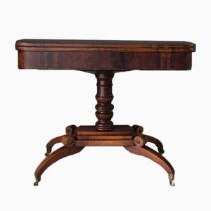 Antiker Kartentisch aus Palisander