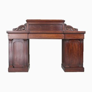 Antique Victorian Pedestal Sideboard
