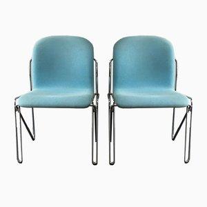 Chaises de Bureau Mid-Century de Labofa, Danemark, 1960s, Set de 2