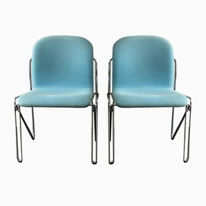Mid-Century Danish Office Chairs from Labofa, 1960s, Set of 2
