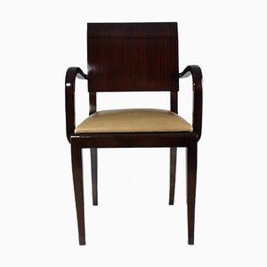 Französischer Art Deco Vintage Stuhl, 1940er