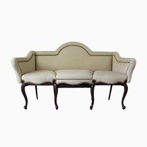 canapé antiguo de palisandro