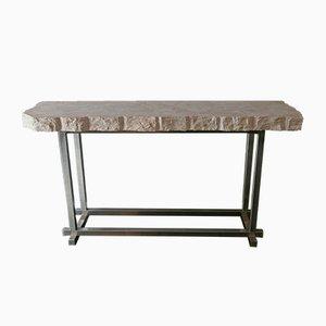 Mesa consola italiana de mármol trani de Flair para Gallery 64/65