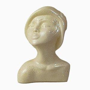 Vintage Porcelain Bust by Pierre Deux