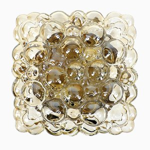 Plafón de cristal burbuja de Helena Tynell para Limburg, años 60