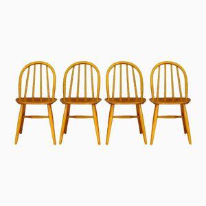 Vintage Chairs by Ilmari Tapiovaara, Set of 4