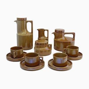 Juego de té y café vintage de Brenne, años 70