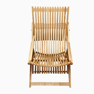Model A2 Folding Fireside Chair by Jean-Claude Duboys for Attitude Editions, 1980s