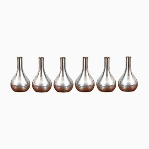 Kerzenhalter von Jens Quistgaard für Dansk Design, 1960er, 6er Set