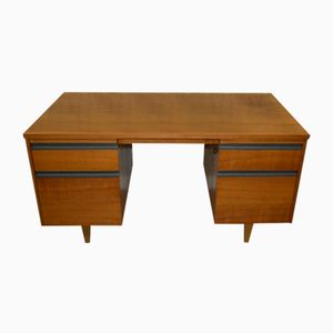 Large Desk with Filing Drawers from Tibergaard, 1960s