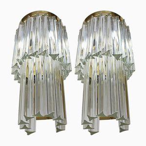 Fantastisch Große Wandlampen Von J. T. Kalmar, 1970er, 2er Set