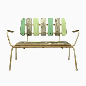 Garden bench from BKS Denmark, 1960s