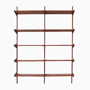 Teak Shelving Unit by Arne Hovmand Olsen, 1960s