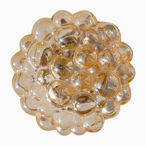 Amber Ceiling or Wall Light by Helena Tynell, 1960s