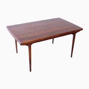 Tavolo da pranzo in palissandro, anni '60