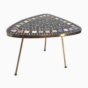Mesa en forma de riñón con mosaico, años 50