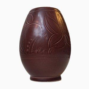 Vase en Céramique par Nils Thorsson pour Aluminia, 1950s