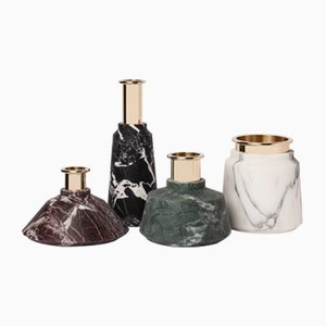 Vases Collection Stoneland par Studio Tagmi pour StoneLab Design, Set de 4