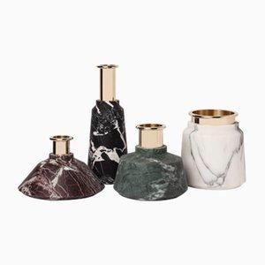 Vases Collection Stoneland par Studio Tagmi pour StoneLab Design, Set de 4